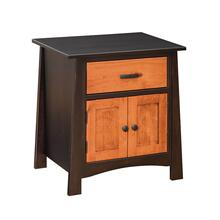 Craftmen - 2 Door Nightstand