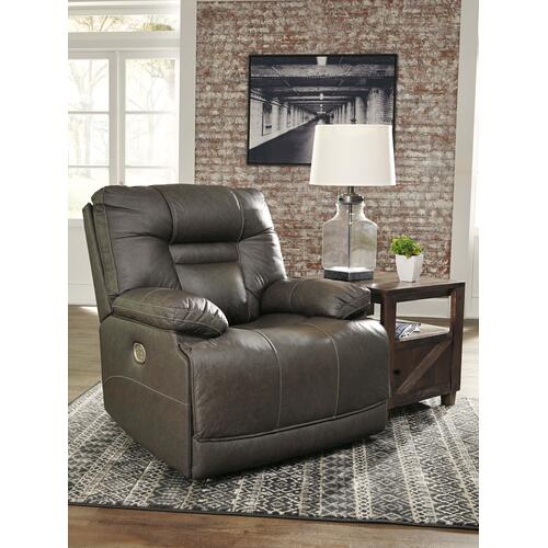 Wurstrow PWR Recliner/ADJ Headrest - Smoke