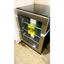See Details - USED- 140 Can Freestanding Stainless Steel Beverage Cooler  BVGCENTER-U   SERIAL #1