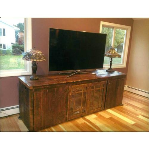 Locally Made Reclaimed Barnwood Cabinet