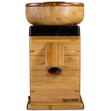 NutriMill Harvest Grain Mill, Black Trim
