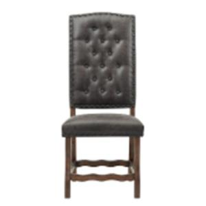 Gramercy Curved Leg Side Chair