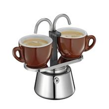 Cilio Stainless Steel Dual Stovetop Espresso Maker