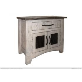 Pueblo Nightstand Gray