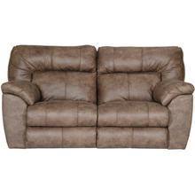 See Details - Hollins Coffee Loveseat with Power Reclining