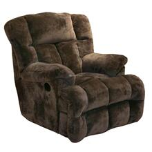 Chocolate Cloud 12 Chaise Rocker Recliner