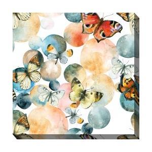 Outdoor Canvas Art - Butterfly Bubble 24 x 24
