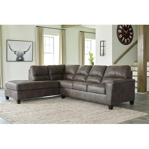 Navi 2 Pc. Sectional Smoke
