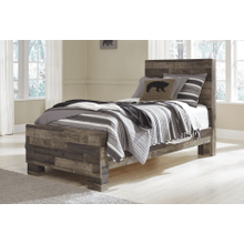 See Details - Derekson- Multi Gray- Twin Panel Bed