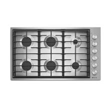 "Product Image - JennAir JGC7636BP  Pro-Style® 36"" 6-Burner Gas Cooktop Pro-Style-Stainless-Knob"