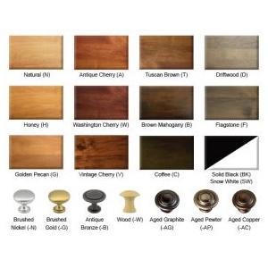 Archbold Furniture - Shaker 1 Drawer Nightstand