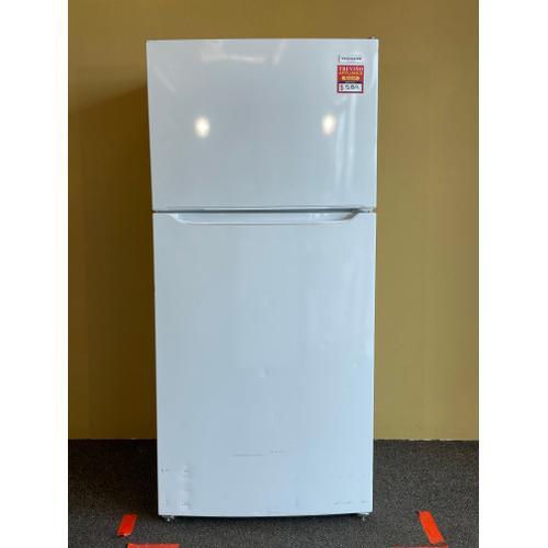 Treviño Appliance - Frigidaire Top and Bottom White Refrigerator