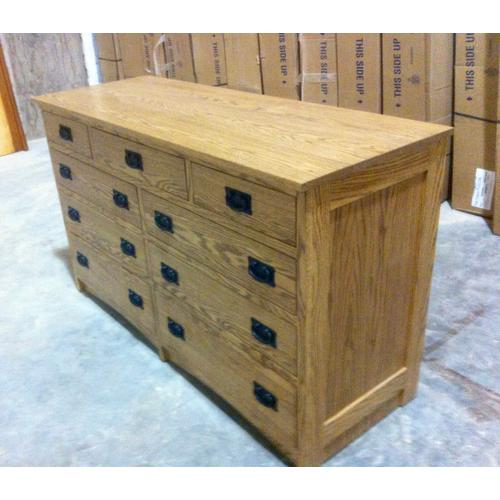 Gallery - Mission Dresser in Red Oak with Stain
