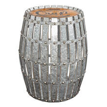 Craft Galvanized Barrel
