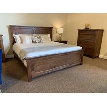 Bungalow Cherry King Bedroom Set with One Night Stand