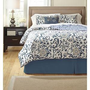 Electric Floral Queen Bedding Set