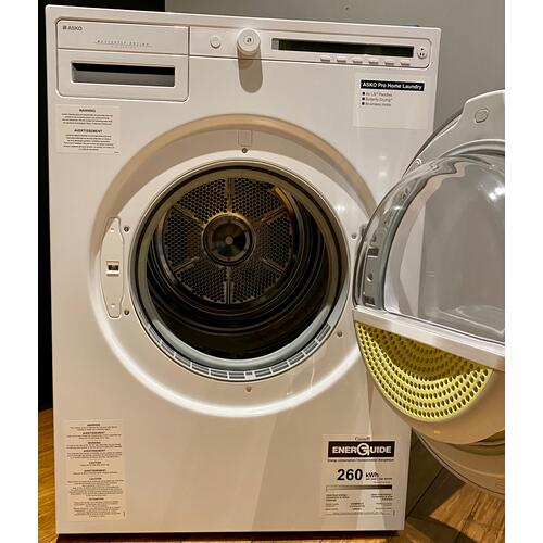 Asko T208VW  Classic Vented Dryer - White