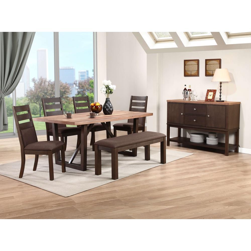 DV24272B Table Base 2 Tones Brown