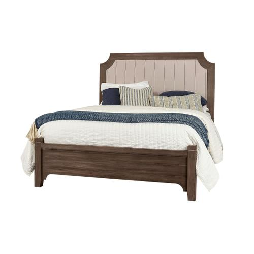 Queen Bungalow Folkstone Upholstered Bed
