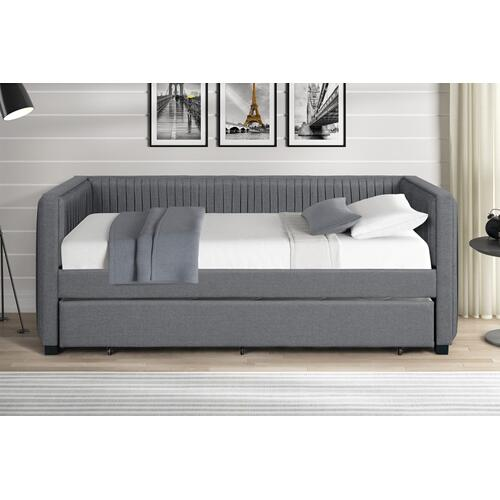 Crown Mark - Emery Grey Daybed and Trundle
