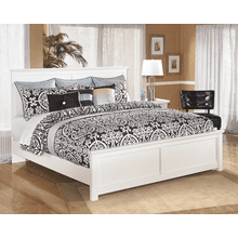 Bostwick Shoals- White- King Panel Bed