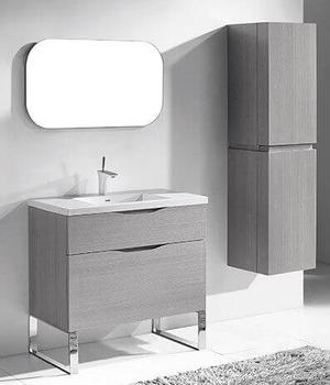 """MILANO 36"""" VANITY ONLY - ASH GREY Product Image"""