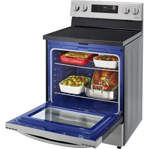 LG 30 inch Electric Smart Range with 5 Radiant Elements