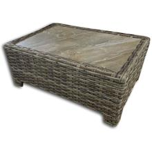 Inverness Wicker Coffee Table