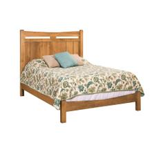 Homestead Bed with Low FootBoard