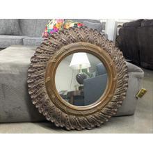 See Details - Mirror, Round, Ant Gold