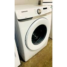 See Details - USED- 4.5 cu. ft. Front Load Washer with Vibration Reduction Technology  in White  FLWAS27W-U   SERIAL #163