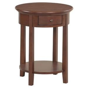 """Whittier Wood - GAC McKenzie Round Side Table (19-1/2""""D)"""