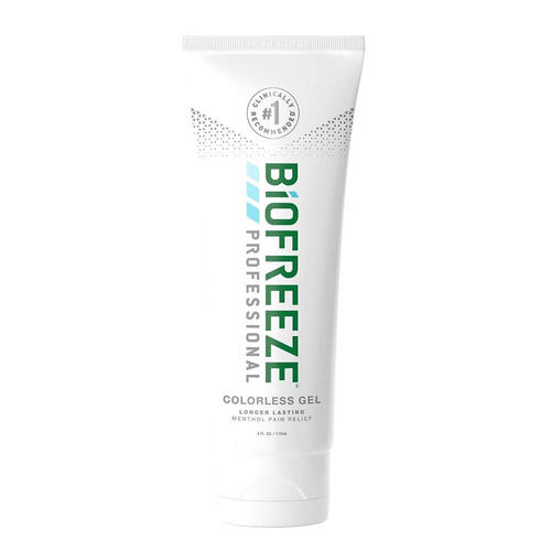 Biofreeze Professional Colorless 4oz Gel Tube