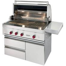 "42"" Outdoor Gas Grill With Cart"