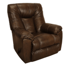 Dark Brown Rocker Recliner - Connery