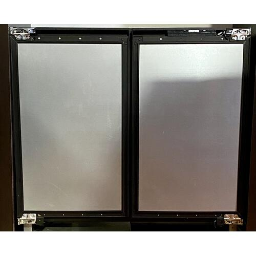 "U-Line U3036WCWCINT60A     36"" Wine Captain ® Model Integrated Solid Double Doors**Custom Panels Required**"