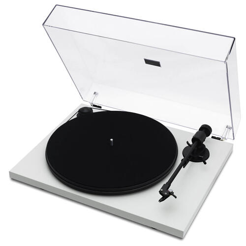 Spindeck Turntable with Cartridge White
