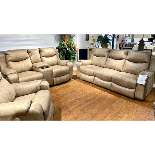 Full Power Reclining Sofa & Loveseat