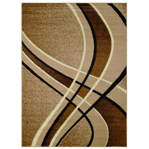 American Cover Design - Medium - Contempo Latte 5x8 Rug
