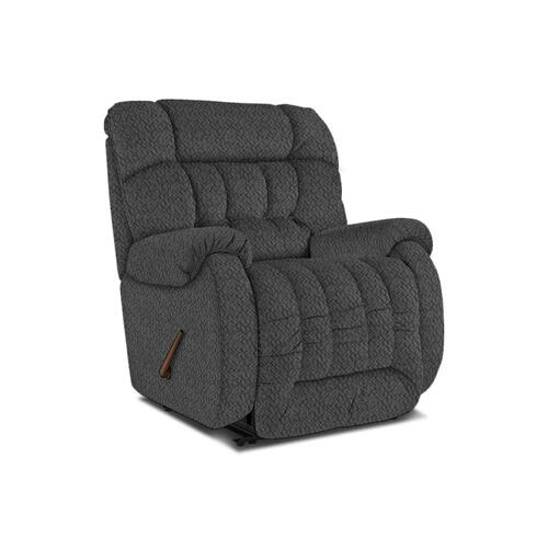 Rake The Beast Wallhugger Recliner in Navy Fabric