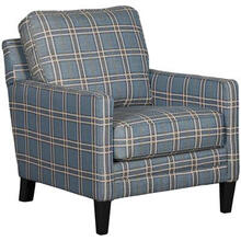 Accent Chair - Plaid