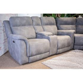 Next-gen Durapella Zero Gravity Power Reclining Loveseat With Console Slate