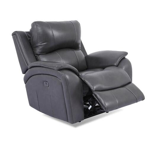 Cheers - CHEERS 5313-L1-2EH-4078 Heritage Leather Power Recliner