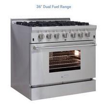 36in Dual Fuel Pro Range