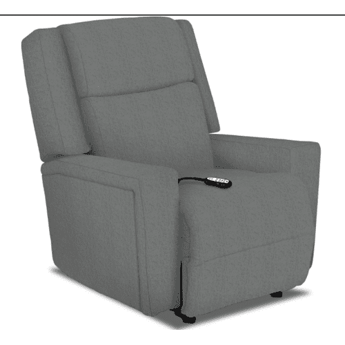 RYNNE Medium POWER SPACE SAVER Recliner in Oxford with USB PORT (7NK87-21723)