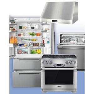 MIELE - Save up to $1,800 on Miele Kitchen Packages of your choice. See 4-Pc Example.