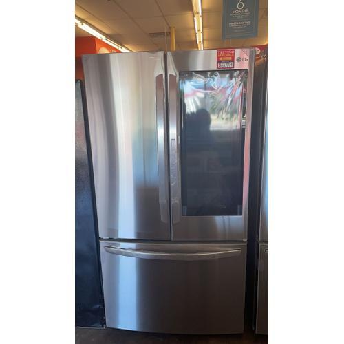 Treviño Appliance - LG InstaView French Door Refrigerator (Printproof Stainless Steel)