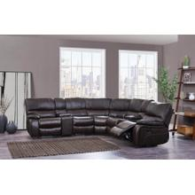 Left Side Facing Recliner	Agnes Espresso/ Black