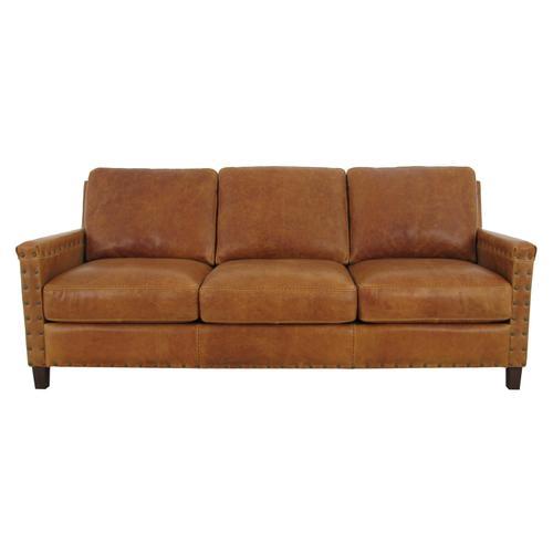 Softline Sofa in Saddle Leather