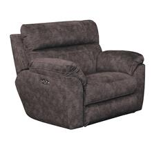Sedona Power Headrest Lay Flat Recliner - Smoke